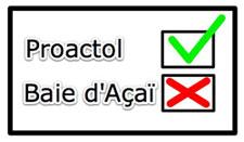 Proactol vs Baie Acai